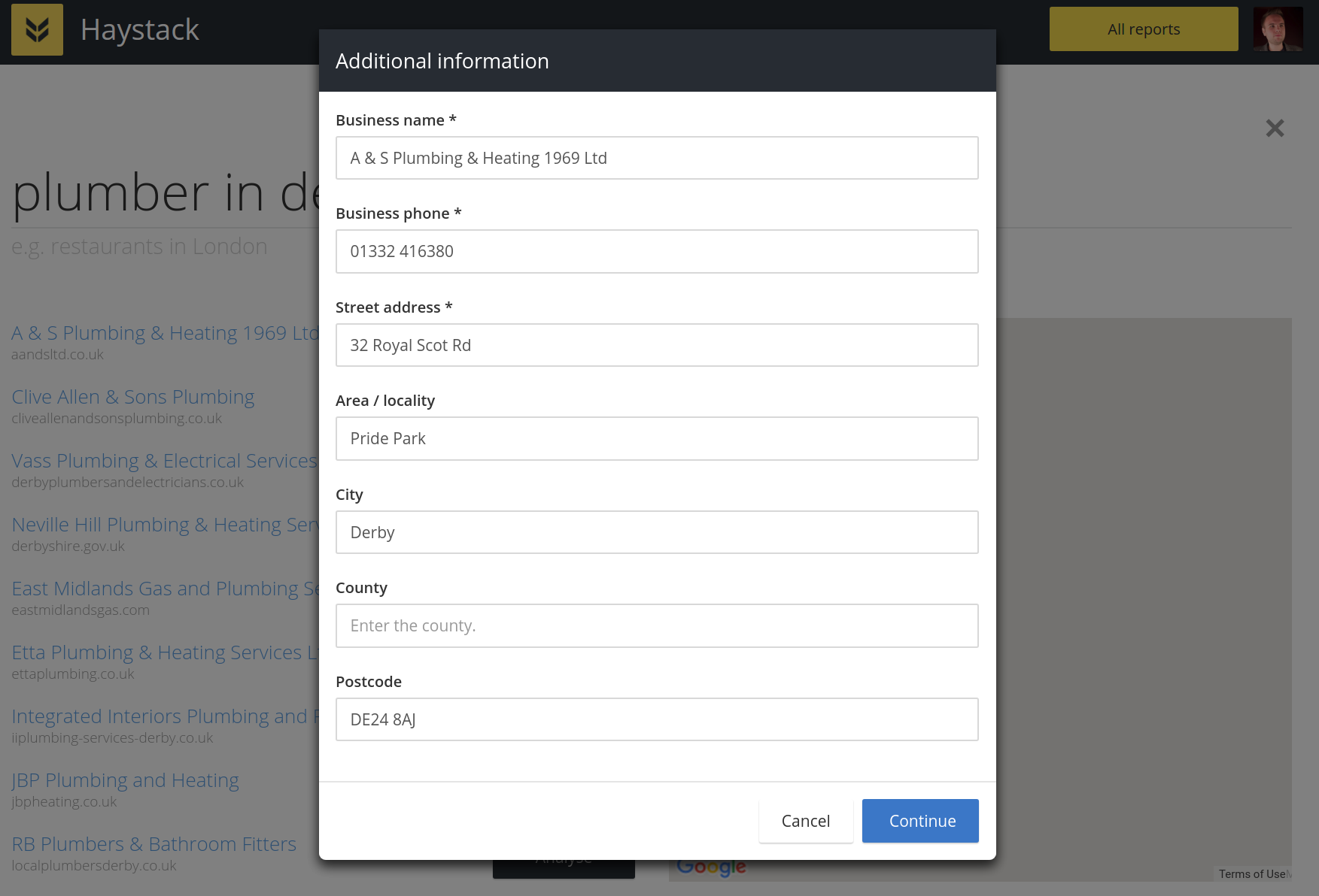Yext additional requirements